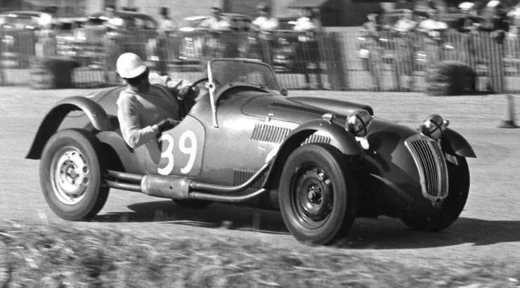 Jim Lowe Terminal Island Road Races Jan. '54