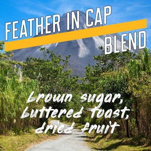 feather in cap espresso blend