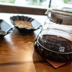 pour over coffee at path coffee roasters