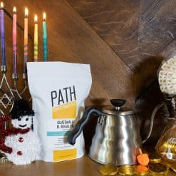 holiday brewing bundle and a free bag of coffee
