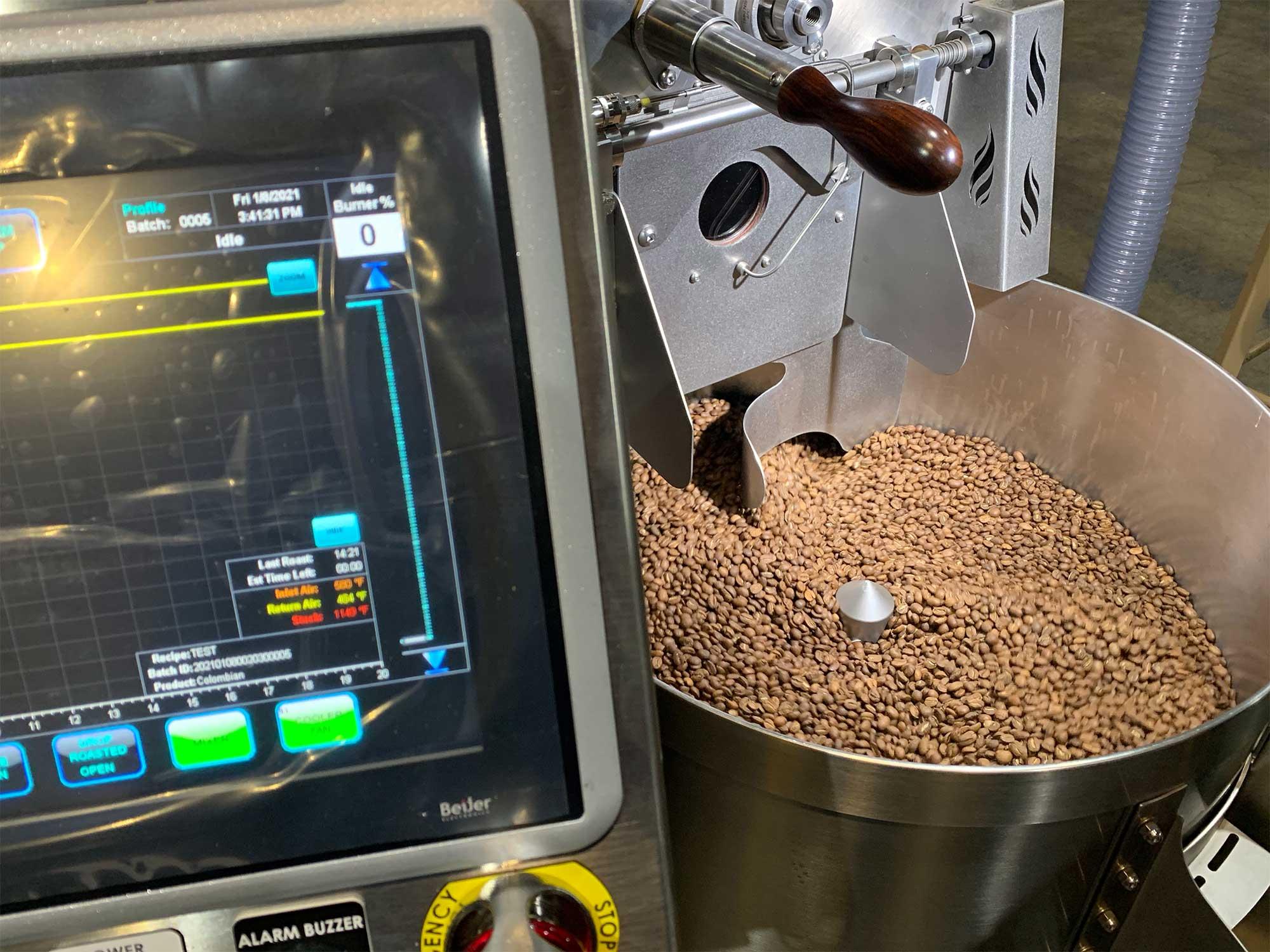 Loring S15 coffee roaster