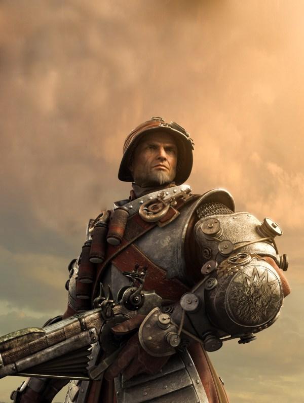 Steampunk Soldier Art