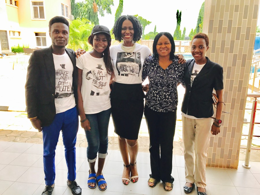 PJI Team with Dr. Odumakin