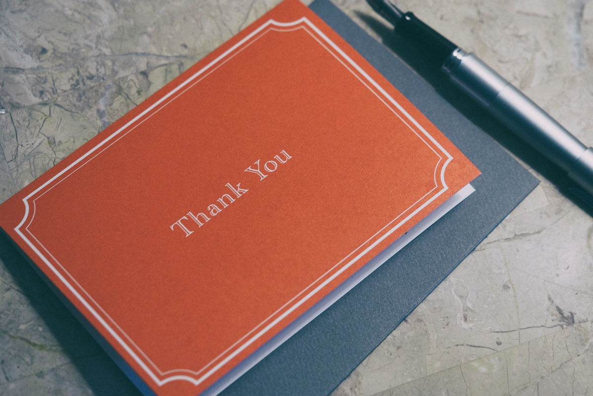 Thank You Notes Are Not Optional (And Other Advice for Job Follow Up)