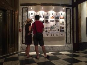 Wall of History Hotel Bristol Vienna