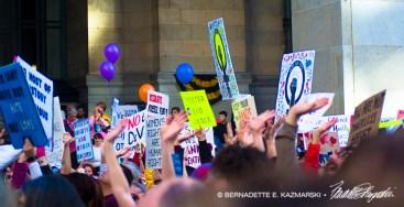Raise Your Hand, Raise Your Sign, Raise Your Voice