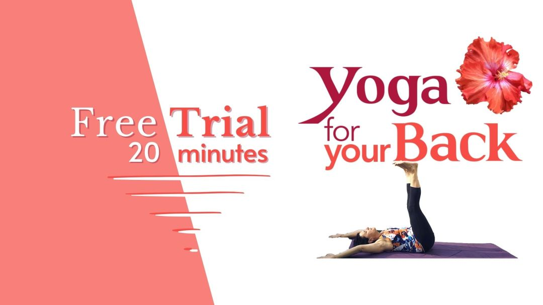 Free Trial Yoga for your Back