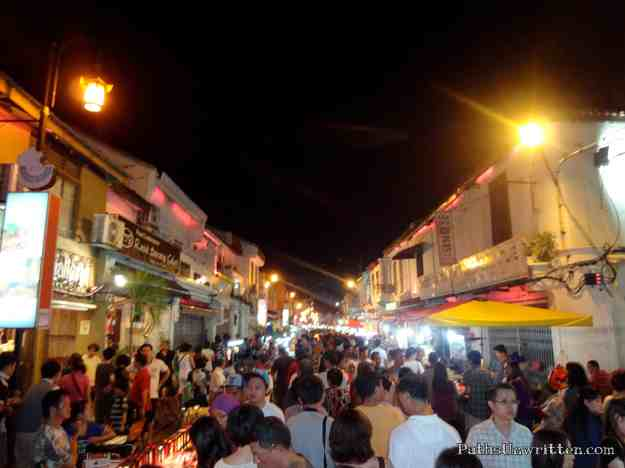 The Jonker Walk night market.