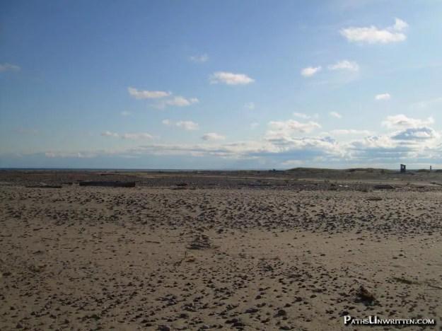 Whitefish Point beach, A fin du monde