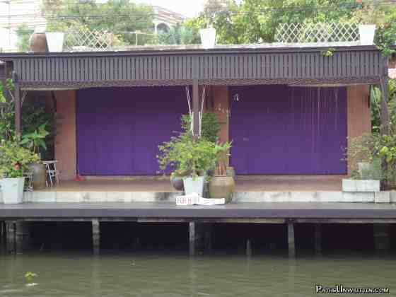 Laura's dream khlong house for rent.