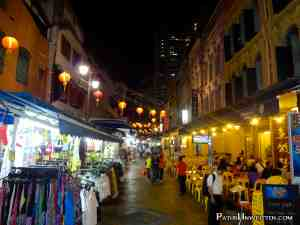 A street in Singapore's Chinatown.