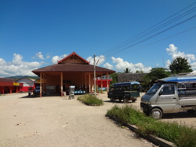 The Luang Namtha bus station