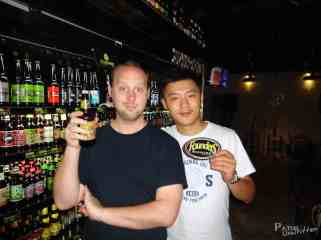 Founders Brewing Co. Beer from my home city has made it to Green Pickup bar in Chongqing, China!
