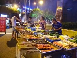 Late night shaokao in Chongqing, China.