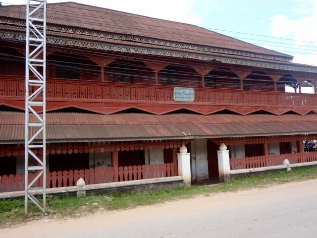 The Muang Sing Tibal Museum. Closed the entire time I was in town.