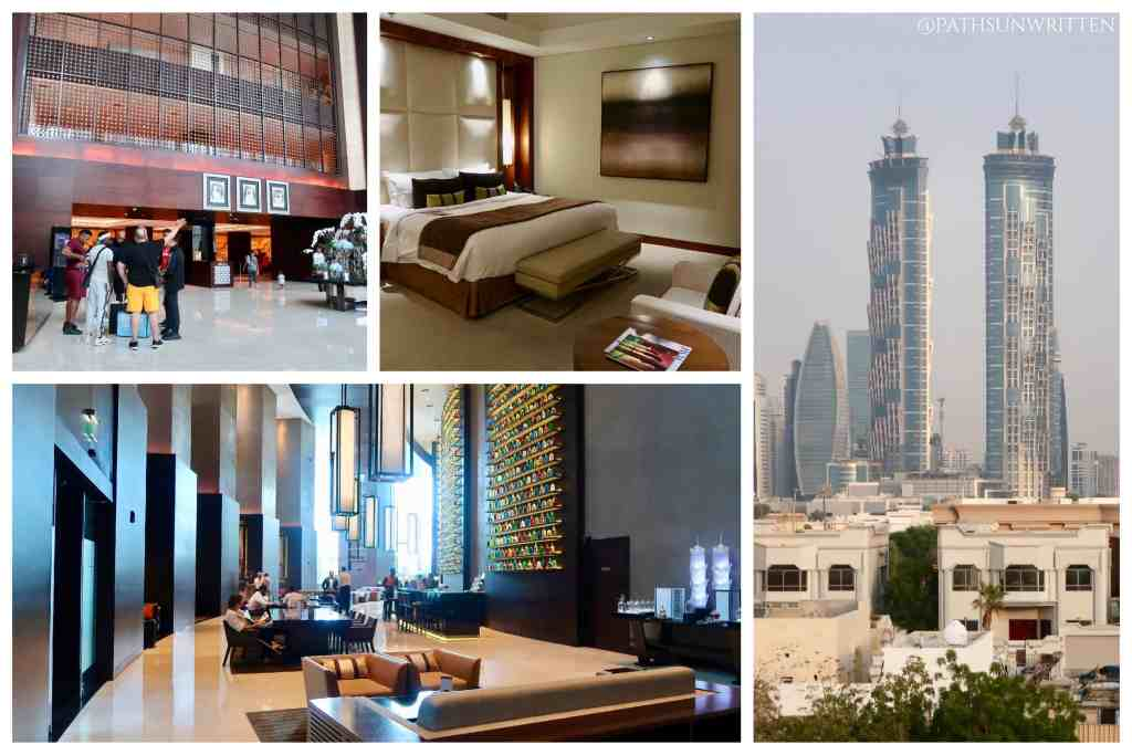 The JW Marriott Marquis in Dubai provided really everything. No need to leave unless you wanted something very specific.