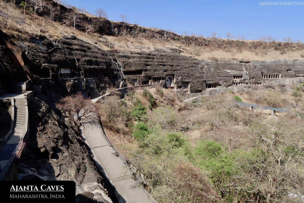 Perhaps the pinnacle of Indian Buddhist architecture, Ajanta Caves will bewilder the best of us.