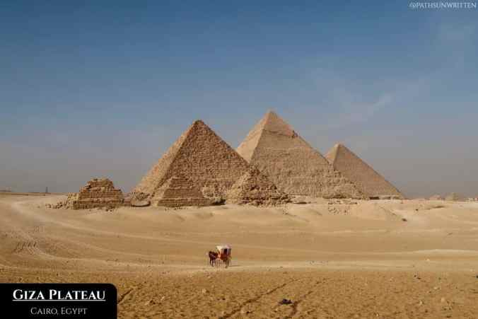 What needs to be said? The Pyramids of Egypt.