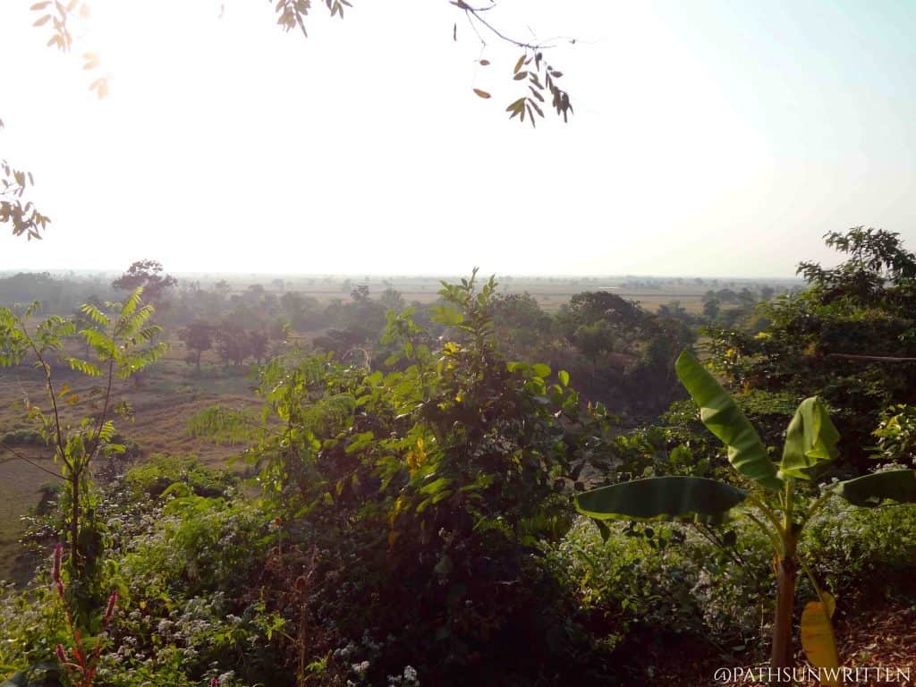 View over the Rakhine countryside.