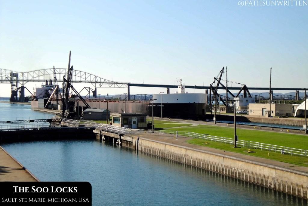The Soo Locks from Michigan.