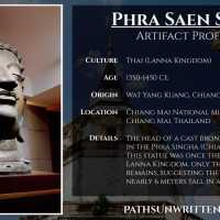 Artifact Profile: Ancient Lanna's Monumental Phra Saen Swae Buddha Head