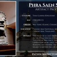 Artifact Profile: Ancient Lanna's Monumental Phra Saen Swae Buddha Head