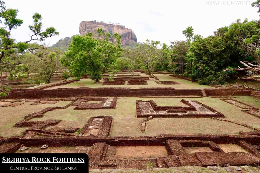 The iconic mountain fortress of Sigiriya sits in legends extending back to Indian mythology.