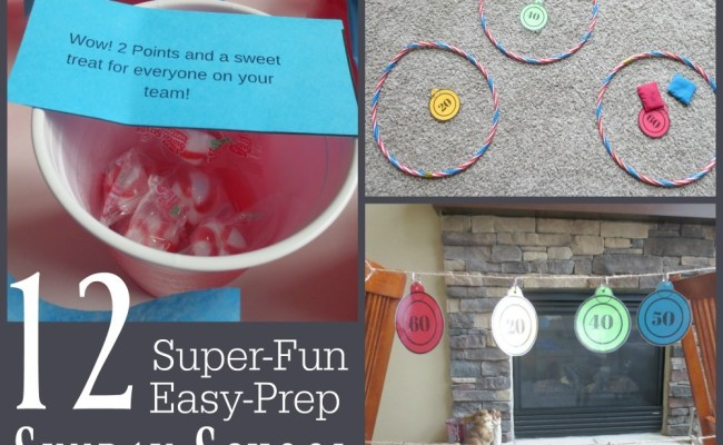 12 Super Fun Easy Prep Sunday School Games Your Students