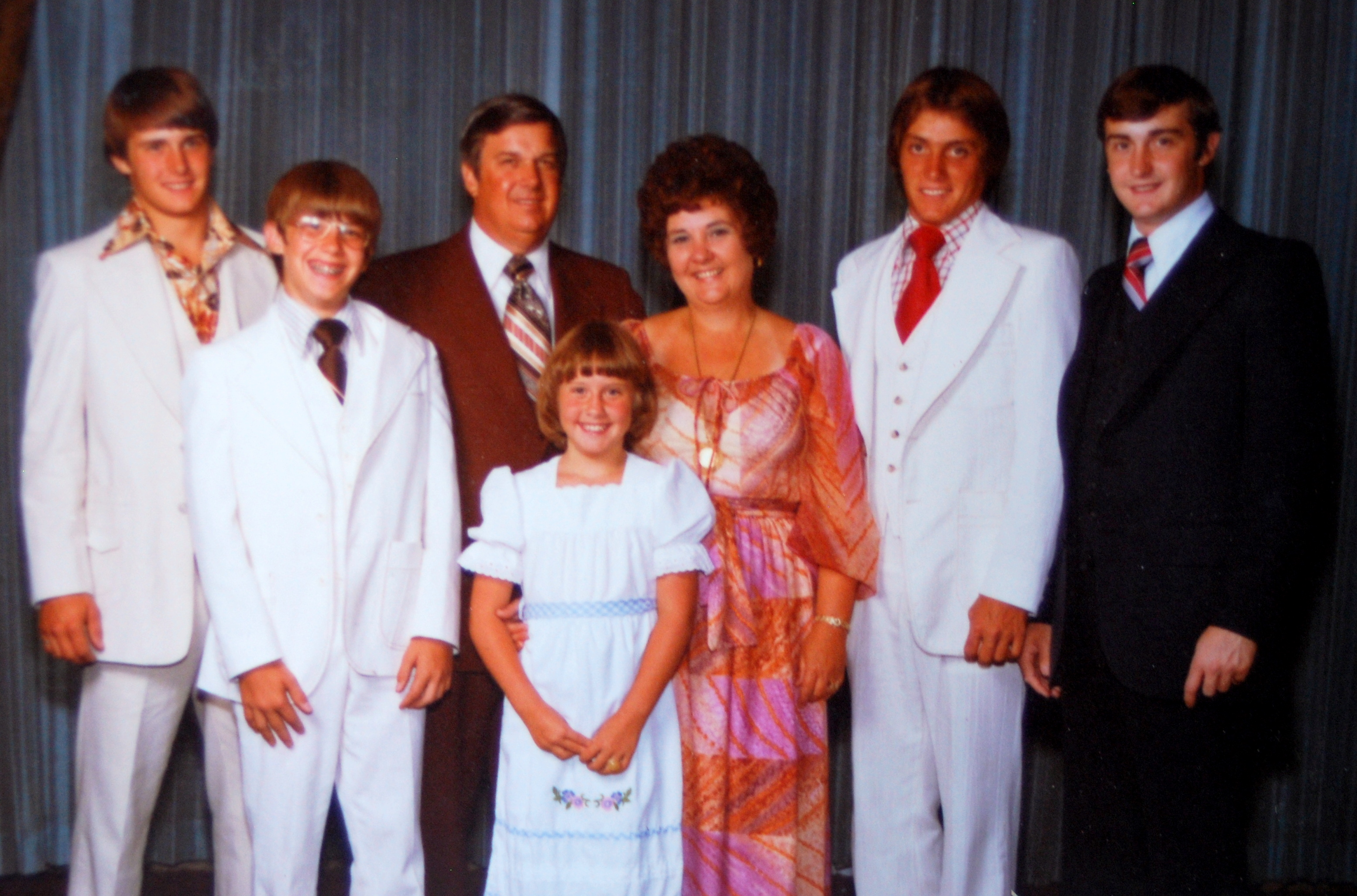 Tompkins Family 1970