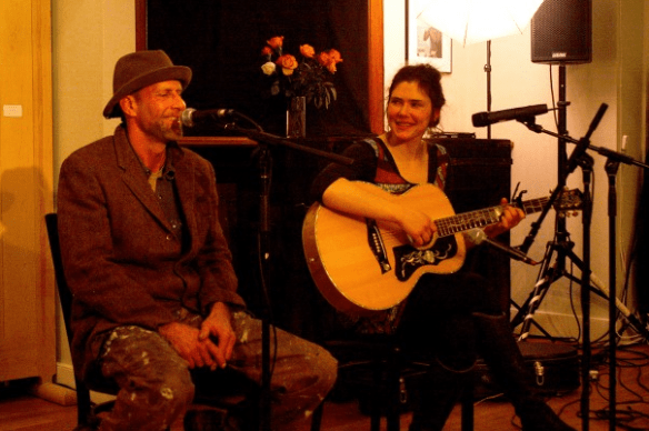 PJ Woodward & Crysal Parrot perform at Connecting Creations Event