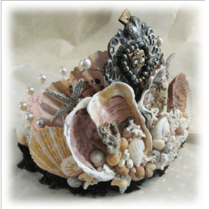 Seashell Crown by Cindy Gonzales