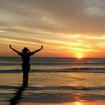 hands raised sunset-97056__180