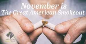 November Wellness: Great American Smokeout