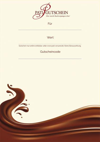 Geld Gutschein Zum Ausdrucken : gutschein, ausdrucken, PDF-Gutschein, Backliebhaber, Ausdrucken, Pati-Versand