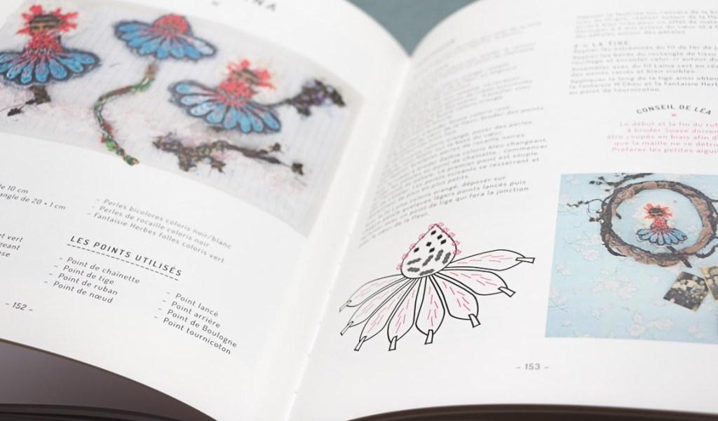 photo extrait du livre, la broderie d'embellissement de Léa Stansal