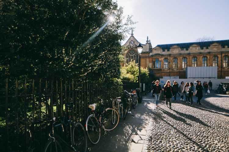 city road people street