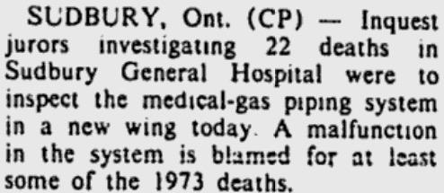 22 deaths Canada