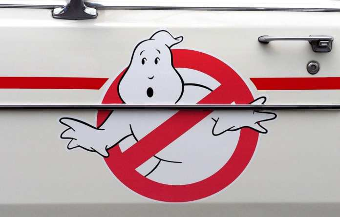 ghostbuster logo slime cystic fibrosis