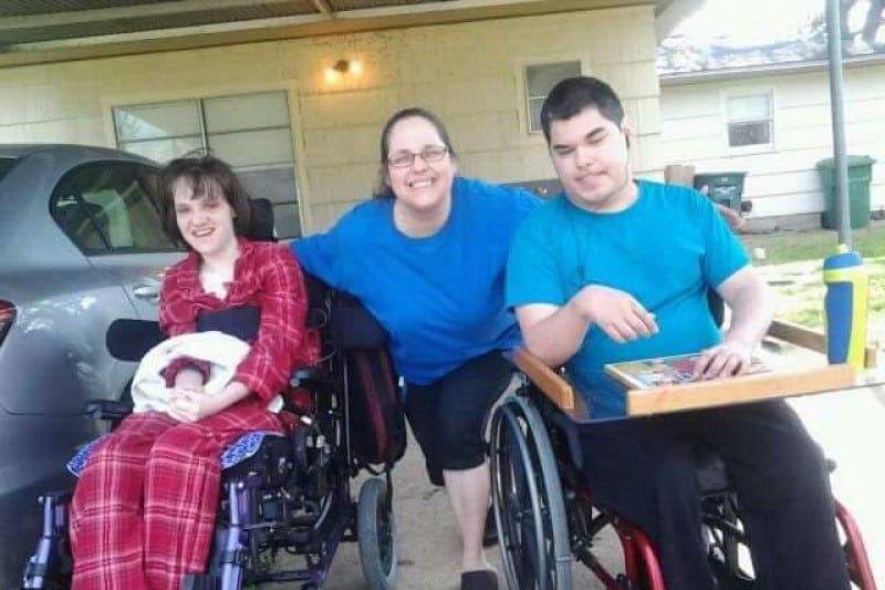 Meet the Mom Fundraising for her Two Adult Children with Rare Diseases