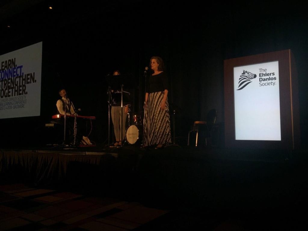 Ehlers-Danlos Society Dazzles at the Zebra Ball