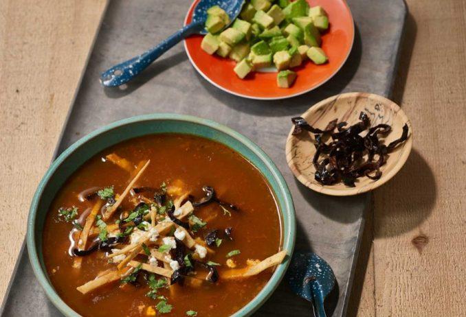 Pati Jinich » Tortilla Soup