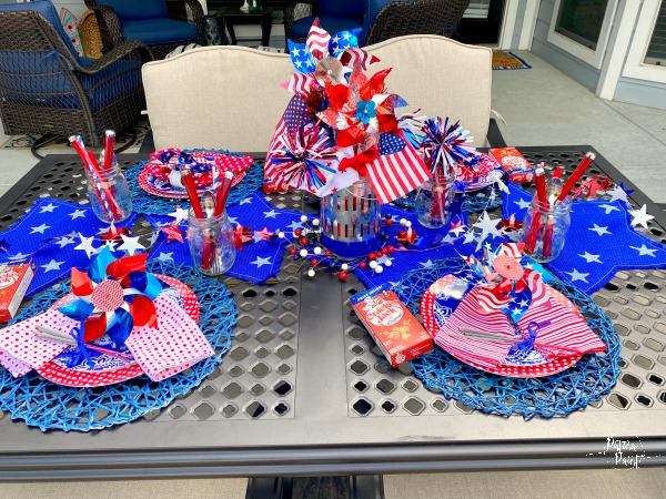 4th of july table 2