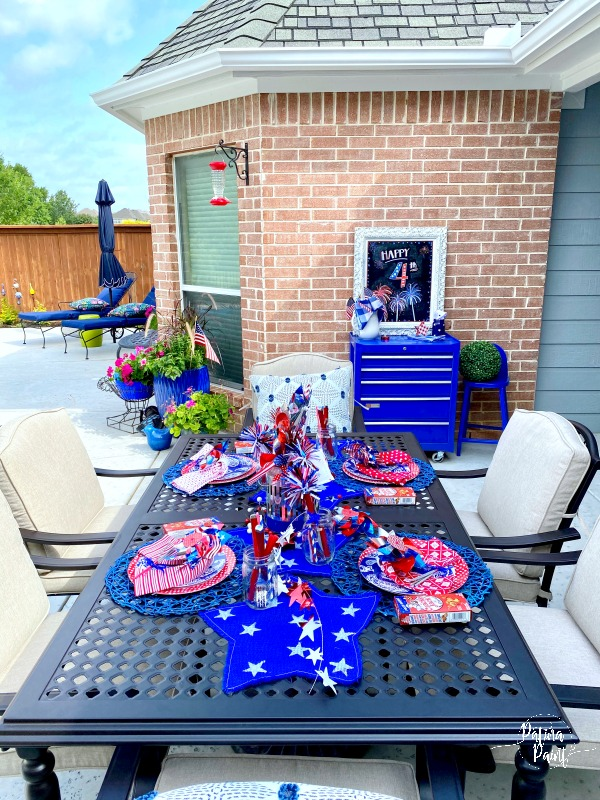 outdoor table and 4th tables cape