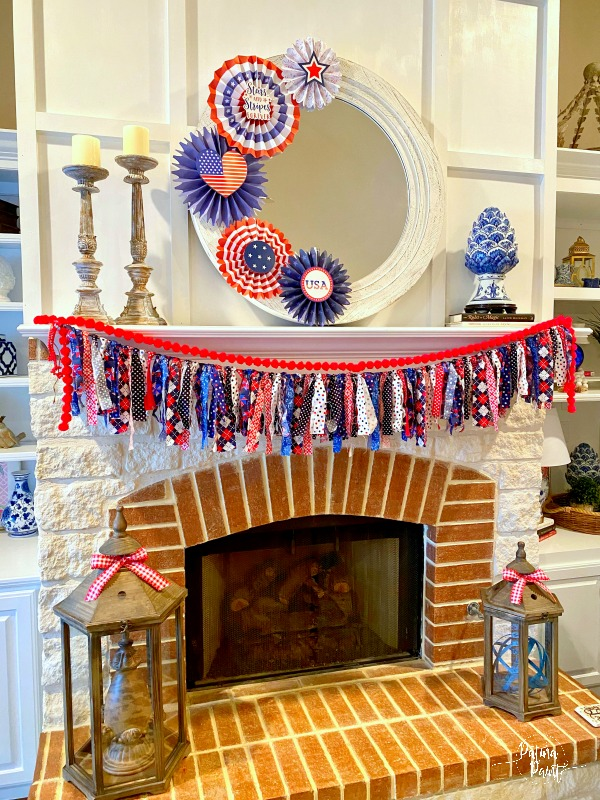 15 Minute 4th Of July Mantle