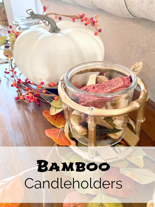 Bamboo Candleholders