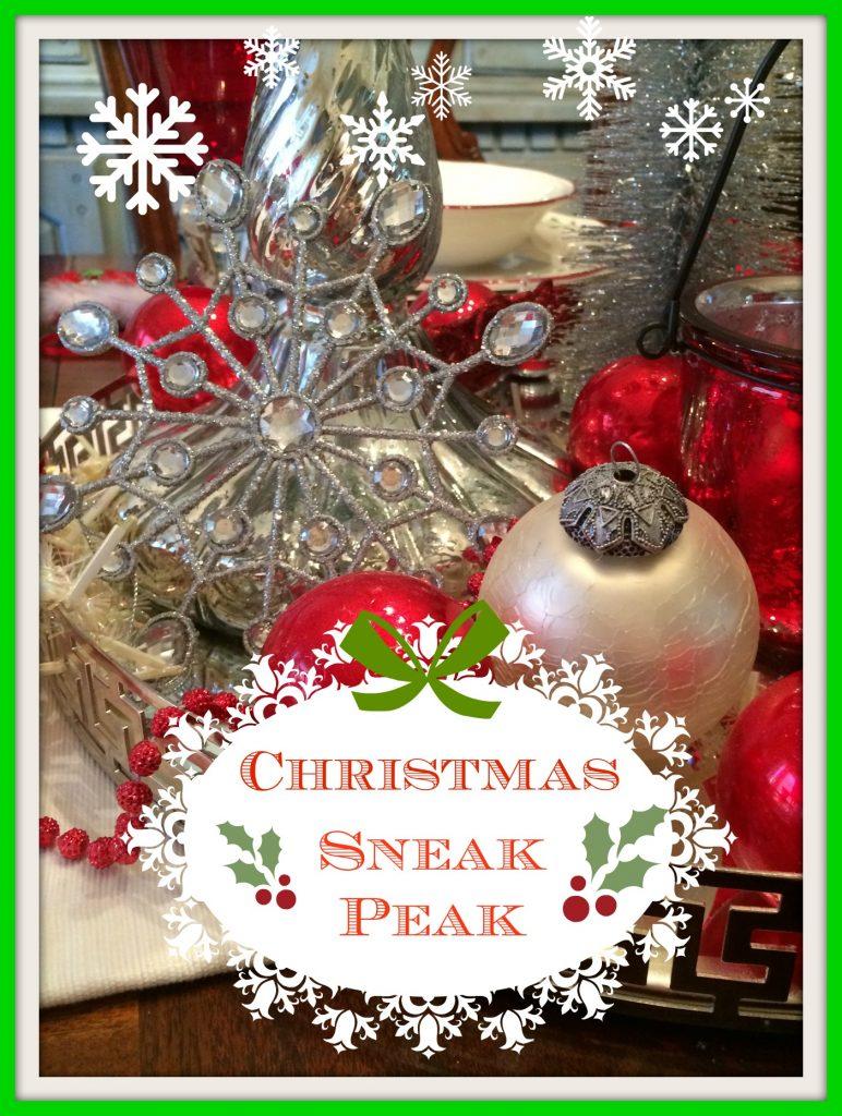 Christmas Sneak Peak!