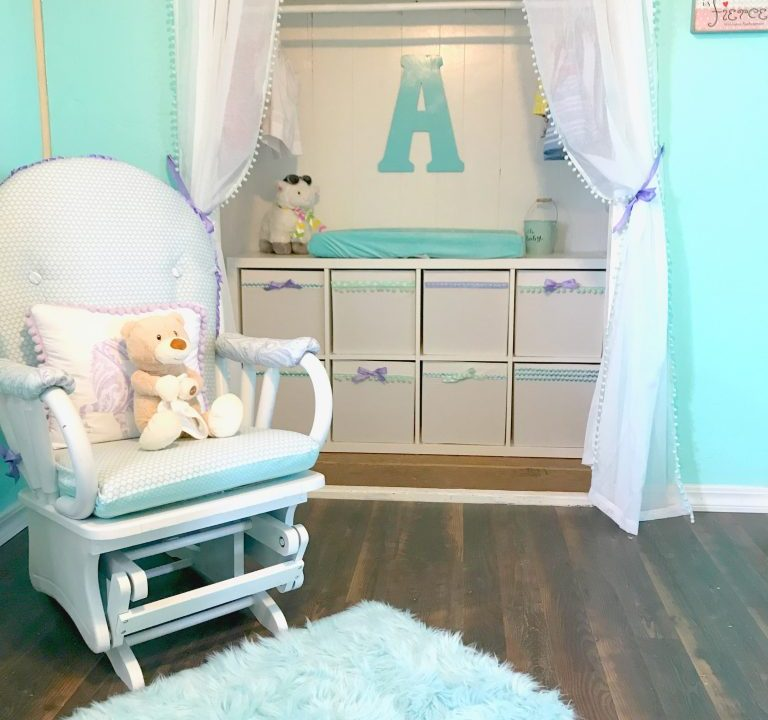 decorating Beep's nursery