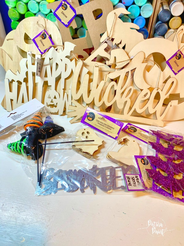 dollar tree halloween decor and crafts