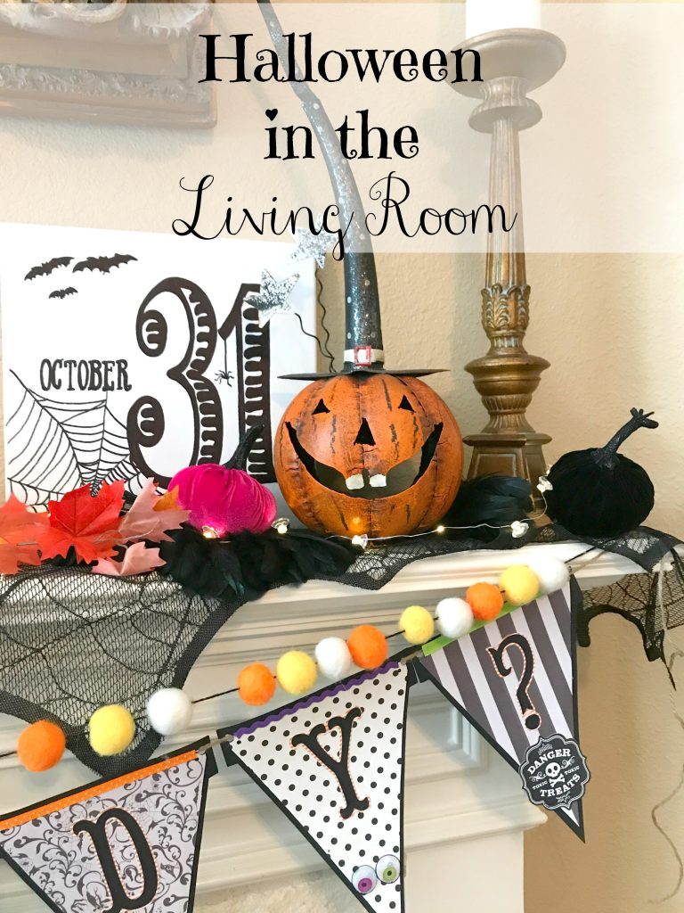 Halloween in the Living Room