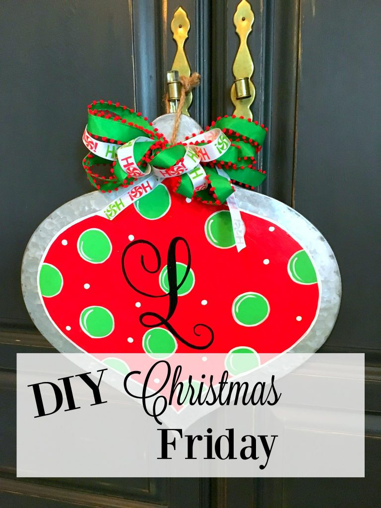 DIY Christmas Friday #2 Hand Painted Ornament